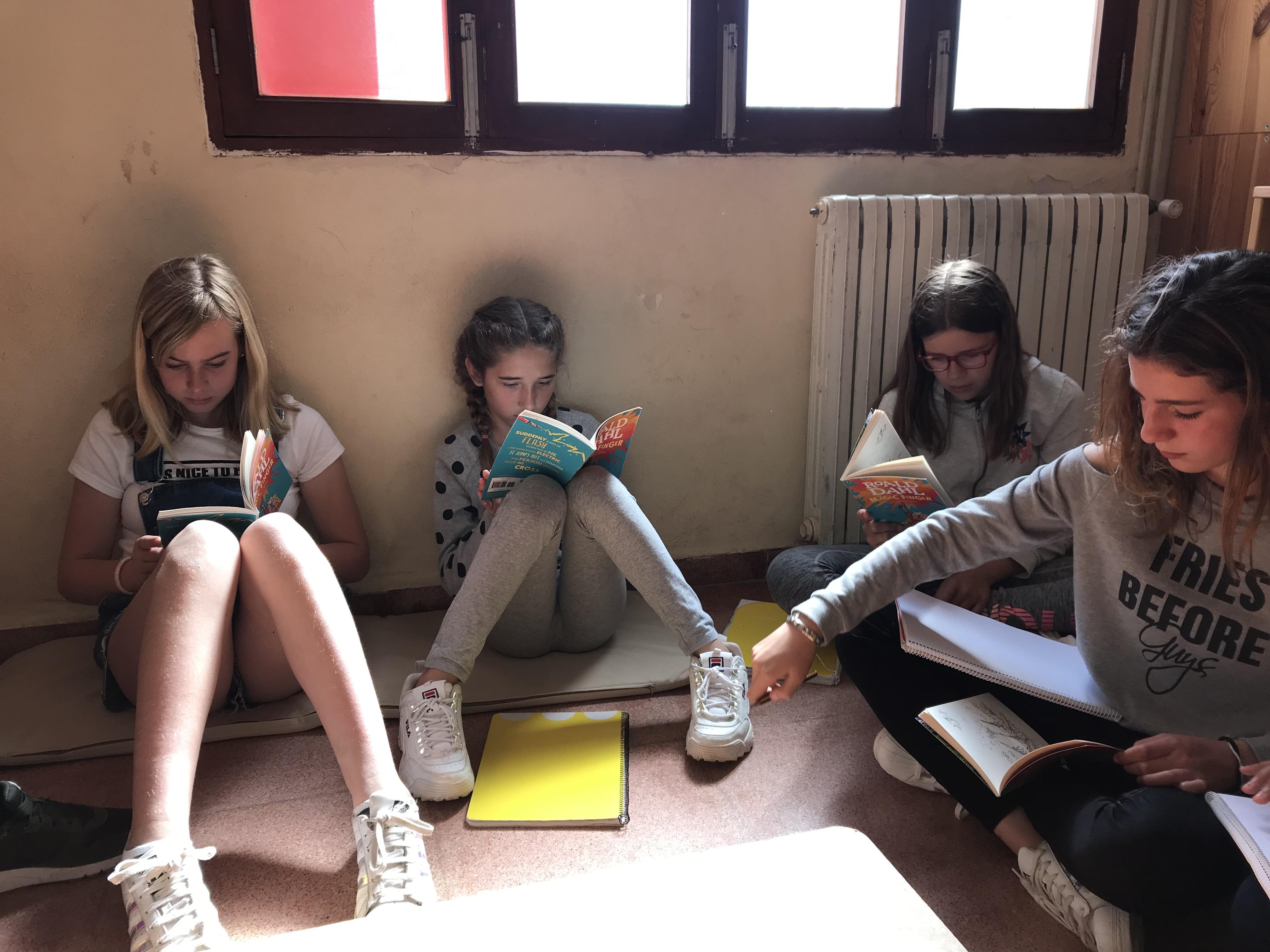 Club de lectura en anglès