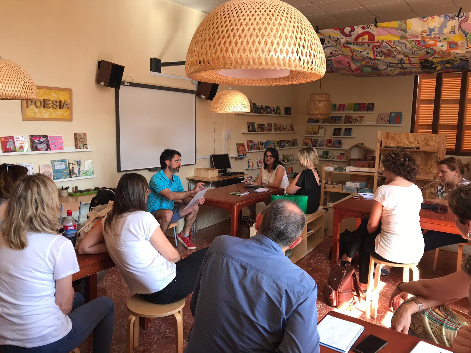 Visita mestres valencians